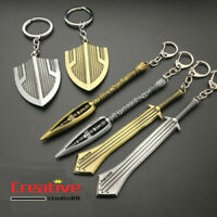 US!Avengers Black Panther Erik Killmonger Shield Keychain Weapon Metal Pendant