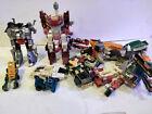 G1 Transformers Lot for Parts A Grimlock Brawn Megatron Mirage Bluestreak Pipes
