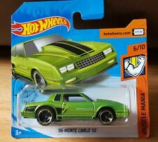 Hotwheels 2020'86 Chevy Monte Carlo Ss 6/10 Muscle Mania