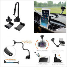 Windshield Dash Universal Long Arm Car Autos Phone Tablet Support Mount Holder