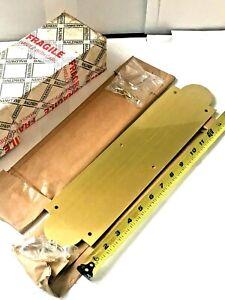 "2 Baldwin 2265-030 Polished Brass 3 x 15"" Push Plate"