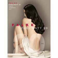 Falke Pure Matt 20 Tights Color Black  Size M/L 40120