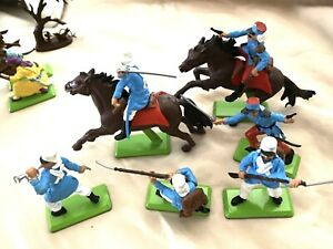 Britains Deetail French Foreign Legion Arabs Full Set 14 Toy Soldiers #7799 1971