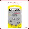 Lot de piles boutons auditives Rayovac, appareils auditifs A10, de 1 à 60 piles