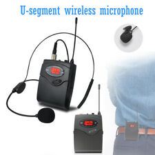 UHF Wireless Headset Microphone MIC System Headset Receiver Transmitter US