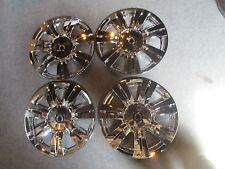 "1 Set of 4 New 2010 11 12 13 14 15 2016 SRX 18"" Hubcaps Chrome Wheel Skins 4664"