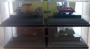Oxford RAIL 148CPK002 Carflat Pack 1970s Cars - Set of 4 Autos der 70er 1/148
