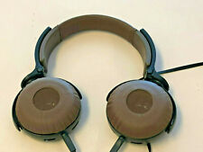 Sony MDR-XB600 On Ear Headphones, Extreme Bass Headphones, Brown and Black