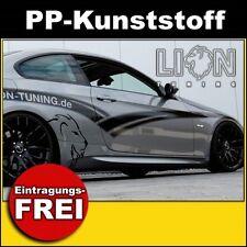 Seitenschweller 3er BMW E92 M3 Look GT, M-Paket Coupe, PP-Kunststoff
