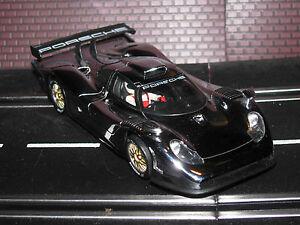 FLY Porsche 911 GT1 Slot Car 98 Special Chrome Edition 1/32 *original tires*