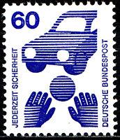 701 A postfrisch BRD Bund Deutschland Briefmarke Jahrgang 1971