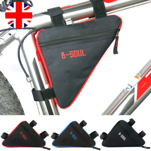 Triangle Cycling Bike Bicycle Front Top Tube Frame Bag Pannier Storage Pack Case