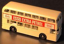Matchbox 1966 No. 74 Daimler Bus Esso Extra Petrol