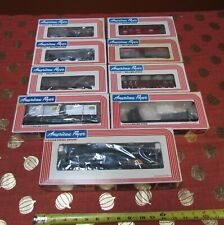 NOS AMERICAN FLYER NEW YORK CENTRAL TRAIN SET/#4-8552 + 9 ROLLING STOCK w/O.B.