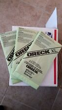 SALE ORECK CC UPRIGHT VACUUM BAGS DEAL 3 FOR $20 NEW hypo-allergenic Green