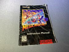 Mega Man MegaMan X3 Super Nintendo SNES Authentic Instruction Manual