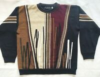 Protege Collection Sweater Vintage 90's Coogi-Style  Size 2XL Fits B.I.G.3D XXL