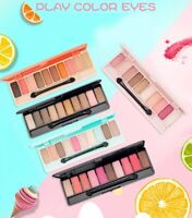 [Etude House] 10 Color Eyeshadow Natural Shimmer Matte Palette Collection Set