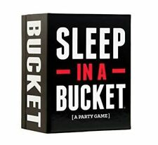Sleep In A Bucket Game Adult Party Game Ages 17 and Up New Sealed Card Game