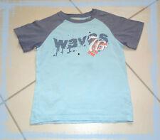 T.shirt 7 – 8 ans TEX KIDS  bleu 100% coton