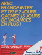 Advertising radio France inter real air bowl between the ears win vacancy