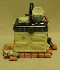 """COUNTRY ARTISTS MEMOIRS MINIATURE BOXES """"WARMING GINGER""""MADE OF RESIN ITEM 01818"""