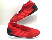 ADIDAS PREDATOR 19.3 INDOOR SOCCER SHOES D97965 RED MEN'S SIZE NWOB
