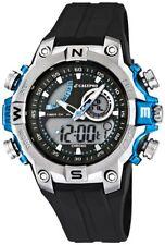Calypso Uhr by Festina Digital K5586/2 schwarz blau Armbanduhr