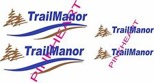 Trailmanor Decal Kit Rv Trail manor rv Decals camper trailer stickers graphics