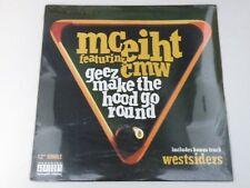 """MC Eiht Featuring CMW - Geez Make The Hood Go Round - 12"""" SEALED 1994 GANGSTA"""