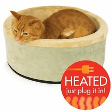 Pet Heating Pad Indoor Heated Cat Dog Bed Kennel Heater Thermo-Kitty Heated Bed