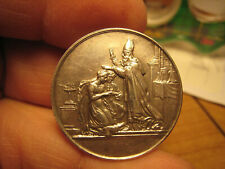 "1800's France silver merriadge medal- silver, hallmark ""Argent"" superb high grad"