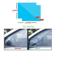 2PCS Car Anti Water Mist Anti Fog Rainproof Window Protective Film 175*200MM