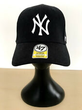 '47 Brand Baseball Cap - MLB New York Yankees - Black Adjustable YOUTH
