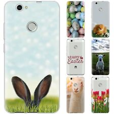 Dessana Happy Easter TPU Silicone Protective Cover Phone Case Cover For Huawei