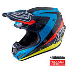 2017 Troy Lee Designs SE4 Full Carbon Twilight Navy XL Motocross Mx Helmet TLD