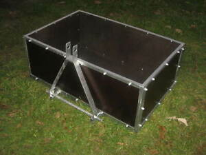 Heckcontainer  Transportbehälter für Hydraulik - Kat 1+2 NEU Heckkiste Schlepper