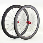 Straight-Pull 40mm Carbon Clincher Wheel Set Powerway R36 Pillar 700C Road Bikes