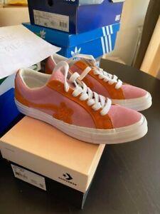 Converse Golf le fleur orange pink 42 , US8.5 , worn once