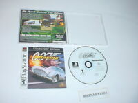 007 RACING game complete w/ manual - Playstation 1 - Collector's Edition