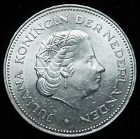 1945- 1970  10 Gulden Silver Netherlands BU/UNC  A39-529