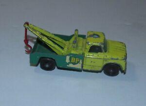 Matchbox Lesney BP Dodge Wreck Truck No. 13