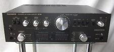 Großer Telefunken TA 750 Verstärker Integrated Hifi Stereo Amplifier TA750 braun