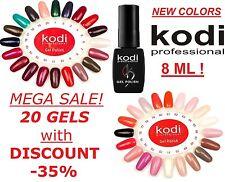 20pcs! SALE! Kodi Professional - Gel LED/UV Nail Polish Professional Color 8ml.