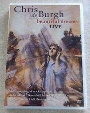 CHRIS DE BURGH Beautiful Dreams Live SOUTH AFRICA UMFDVD102 Does not play in USA