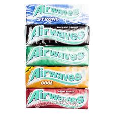 120x Airwaves Kaugummis (Auswahl Cool Fruit,cherry mint, Black mint, green mint)