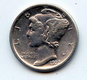 1923-s Mercury dime  (SEE PROMO)