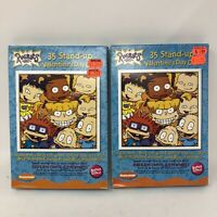 Vintage 2001 Nickelodeon 2x Box Of 32 Valentines Sealed Rugrats Lot Of 2
