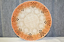 Rare Antique Rudolstadt Pottery Co. Reticulated Bowl, Circa 1904  - S3854