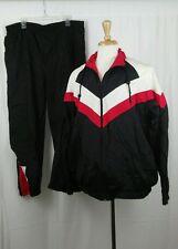 Vintage 90s 2PC Mac Gregor Full Zipper Nylon Windbreaker Jacket & Pant Sz XL